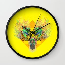 duckface Wall Clock