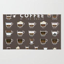 Coffee Chart Rug