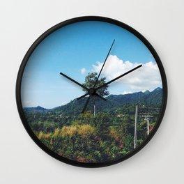 Thinkin of U Wall Clock