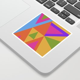 Triangle Rainbow Sticker