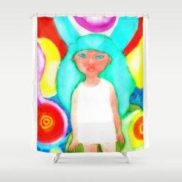 Miss Psyche 03 Shower Curtain