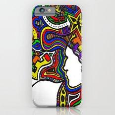 Rainbow Techno iPhone 6s Slim Case