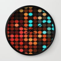 disco Wall Clocks featuring Disco by DuckyB
