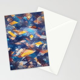 Abstract Composition 343 Stationery Cards