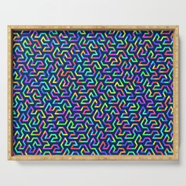 Fractal Abstract 81 Serving Tray