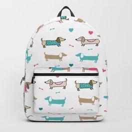 Dachshunds love Backpack