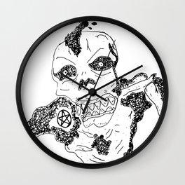 Skvll Face Wall Clock