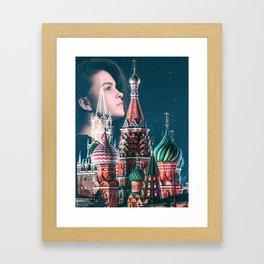 Dream of Kremlin Framed Art Print