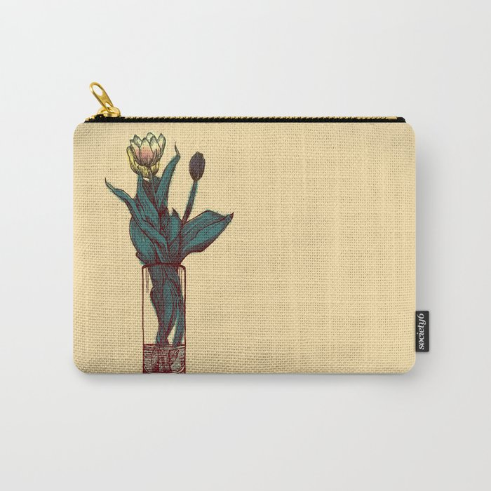 Tulip Vase Carry-All Pouch