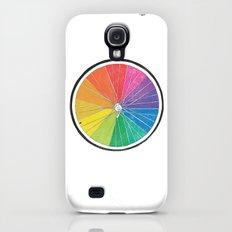 Color Wheel (Society6 Edition) Slim Case Galaxy S4