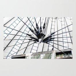 Roof of berlin shopping center Rug