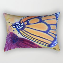 King of butterfly | Le roi des papillons Rectangular Pillow