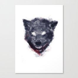 Wolf I-I Canvas Print