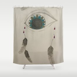 the soul's dream Shower Curtain