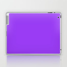 Bright Fluorescent Neon Purple Laptop & iPad Skin
