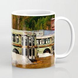 Bus Cemetery Coffee Mug