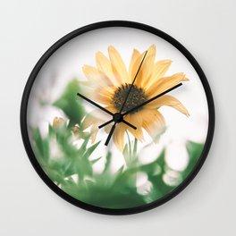 Silphium perfoliatum Wall Clock