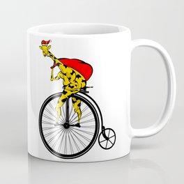Giraffe Santa Chritmas Coffee Mug