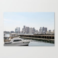 Boston By Day Canvas Print