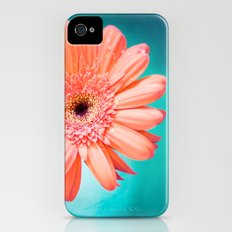 orange gerbera daisy iPhone (4, 4s) Slim Case