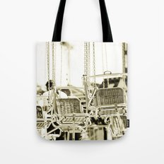 Travelling Chairs Tote Bag