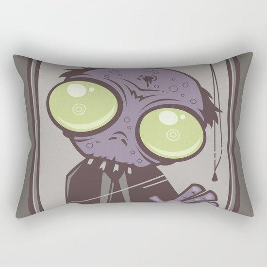 Office Zombie Rectangular Pillow