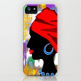 Morena iPhone Case