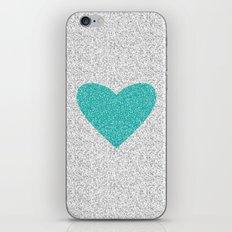 Aqua Love iPhone & iPod Skin
