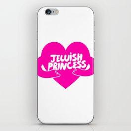 Jewish Princess iPhone Skin