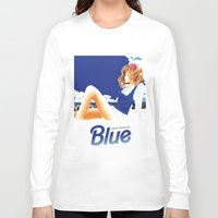 hentai Long Sleeve T-shirts featuring blue 1 by yougo