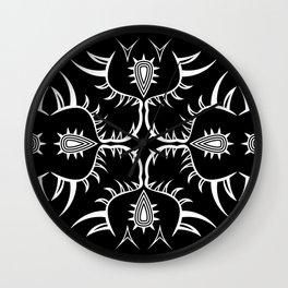 Geometric nature 2 Wall Clock