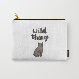 Wild Thing Bear Carry-All Pouch