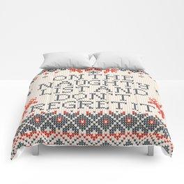 Naughty List Comforters