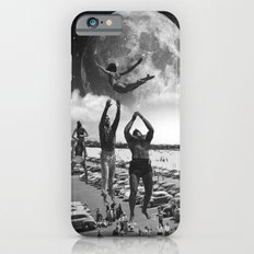 catch her black and white iPhone 6s Slim Case