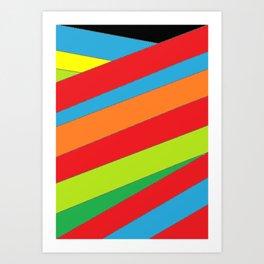 Roots - Colour Wrap 2 Art Print