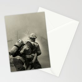 Fire Fighters Stationery Cards