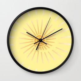 Sunshine IV Wall Clock