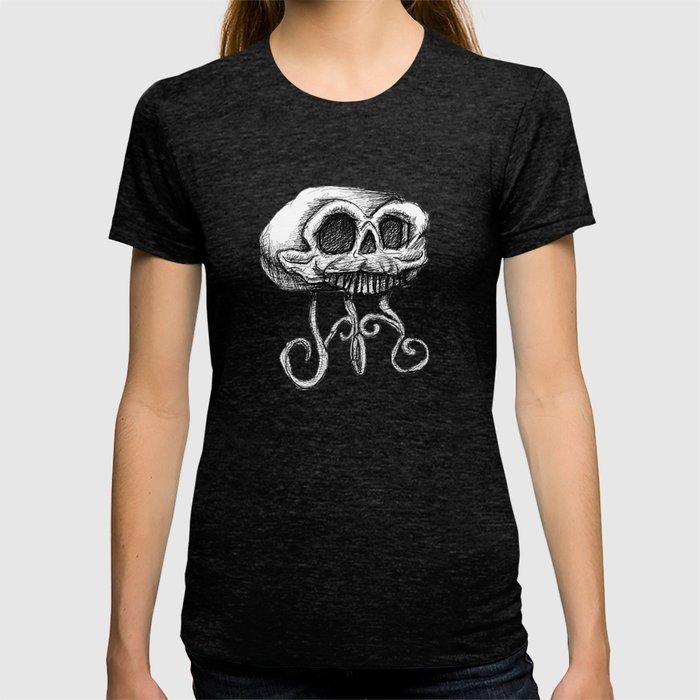MANTLE skull T-shirt