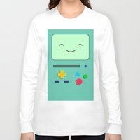 bmo Long Sleeve T-shirts featuring BMO 2 by skyetaylorrr