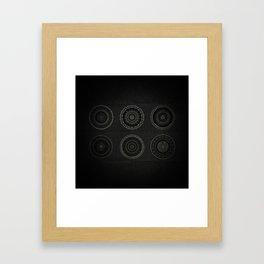 Inner Space 7 Framed Art Print