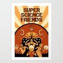 Super Science Friends Kickstarter Poster by supersciencefriends
