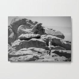 Walking On Planet Earth Metal Print