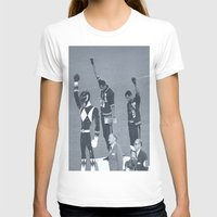 power rangers T-shirts featuring Black Power Rangers by .escobar