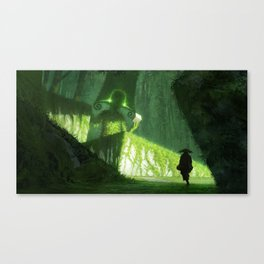 hey psst, wanna buy some cubes Canvas Print