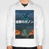 shingeki no kyojin Hoodies featuring Shingeki No Ganon by Yoash