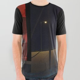 side/side All Over Graphic Tee