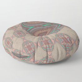 Pallid Minty Dimensions 17 Floor Pillow