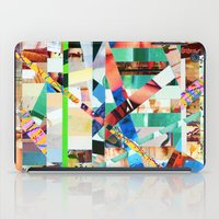 bianca green iPad Cases featuring Bianca (stripes 22) by Wayne Edson Bryan