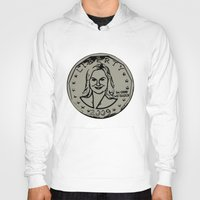 leslie knope Hoodies featuring Leslie Knope  |  Susan B. Anthony Coin  |  Parks and Recreation by Silvio Ledbetter