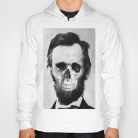 lincoln Hoodies featuring Lincoln by JoolySalas